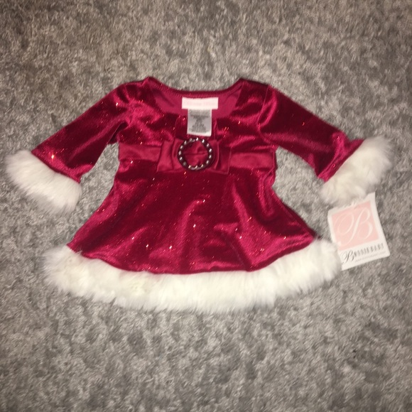 Baby Christmas Dress so Pretty size 0,3 Months